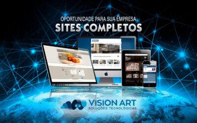Criação de Site Institucional Exclusivo de Fácil Edição Com E-mails Profissionais
