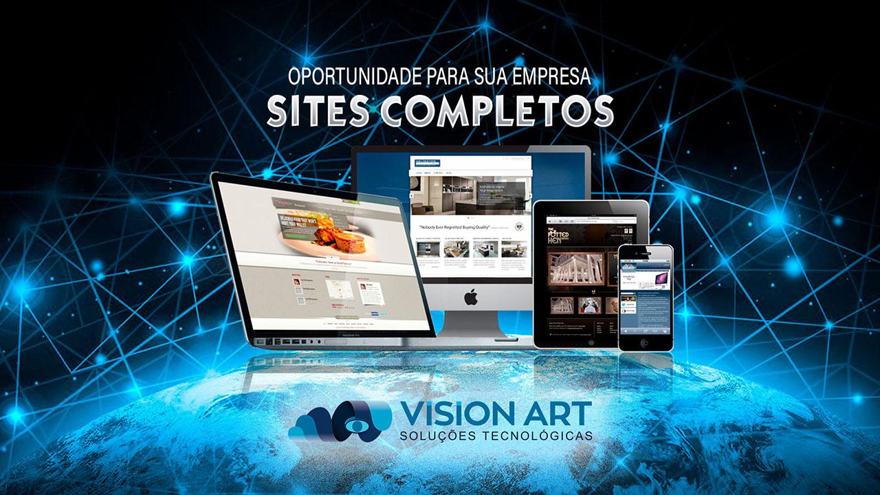 vision art tenha seu sites completos