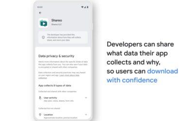 Google anuncia nova seção de privacidade para a Play Store